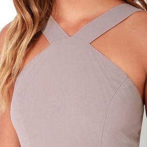 Lulu's Dresses - Lulus   Air of Romance Halter Maxi Dress XL